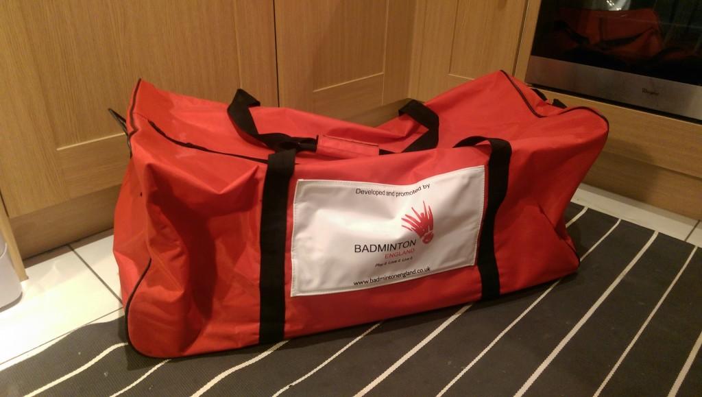 Badminton England 100 litres badminton bag